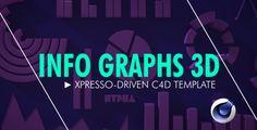 Info Graphs 3D - Cinema 4D