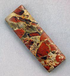 Tabu Tabu Jasper  Hand Cut Freeform Gemstone by WildRavenStudio, $22.00
