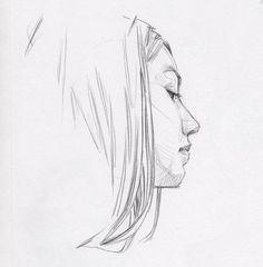 Something simple. . #sketchbook #drawing #pencil #paper #kneadederaser #crosshatching #crosshatch #portrait #portraitdrawing #headdrawing #mechanicalpencil #sketch #sketchbook #linework