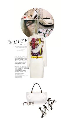 """""""In White We Trust..."""" by thehamptonsgirl ❤ liked on Polyvore"""