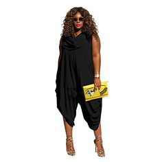 New Trending Pants: Best-topshop Women's Round Neck Jumpsuit&Rompers Plus Size (2XL, Black). Special Offer: $17.99 amazon.com Description: 100% brand new and high quality Its special design will make you look unique and sexy Comfortable to touch and wear Add feminine sense It is a good gift for your lover, family and your friend Specification: Gender: Women Material: Polyester...