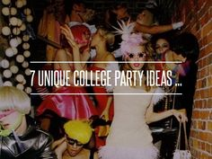 6. Stoplight - 7 Unique College Party Ideas