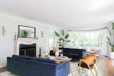 Emily Henderson Griffith Park House Traditional Italian Modern Living Room Reveal 06