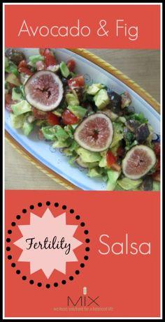 Avocado & Fig {Fertility} Salsa | http://www.mixwellness.com