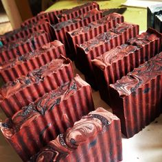 Indonesian Dragons Blood  activated bamboo and red clay Hemp Soap by NederlandNaturals.com