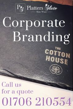 Our latest slate coasters and table mats for drinking & dining destination at The Cotton House in Helmshore. If you'd like company branded supplies, call us for a quote on 01706210554  #corporatebranding #corporategifts #companybranding #logobrand #brandedmerchandise #brandedproducts #coasters #mats #drinking