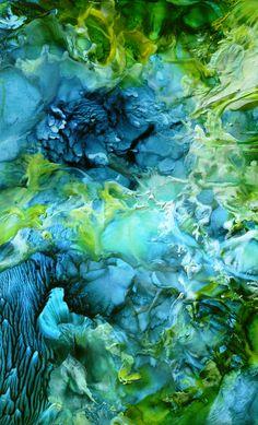 Encaustic Art by Marjo Korrel,