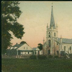 Catholic Church, Thibodaux, La. 2 :: 1908  LSU Libraries Postcard Collections