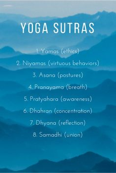 Here is everything you need to know about the eight limbs of yoga!