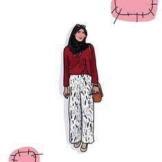 Jadi mirip Alyssa Soebandono, yah. Tapi kelamaan main sepedaannya, jadi item.    #kumahaakuweh #illustration #firsttrial #artwork