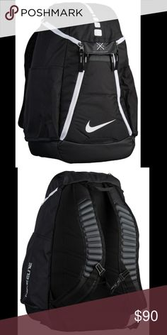Nike Hoops Elite Max Air team 2.0 Backpack polyester Imported  Water-resistant bottom creates a b5b5069e3150f