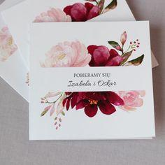 Beautiful burgundy and pink wedding invitations APR 843 - NAVI invitations Cheap Wedding Invitations, Watercolor Wedding Invitations, Printable Wedding Invitations, Floral Invitation, Wedding Invitation Templates, Wedding Stationary, Shower Invitations, Invites, Wedding Prep