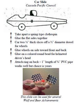 Use the materials and directions but do not attach the PVC ring used to make it a neckerchief slide.