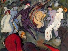 Harlequinade - (Albert Bloch)
