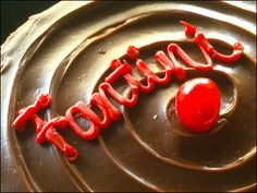 Fantini Chocolate Mousse Logo Branded