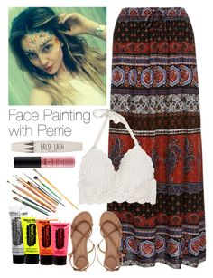 """Face Painting with Perrie"" by onedirection-outfits1d ❤ liked on Polyvore featuring ASOS and Topshop"