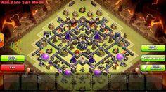 Clash of Clans Town Hall 9 War Base 3 Anti Hog