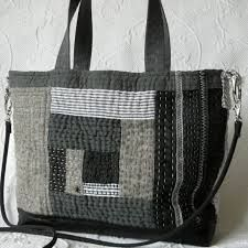 Image result for black patchwork bags
