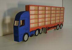 Car toy shelf storage 20-100 pockets Blue-Red Toy Shelves, Shelf, Trucks, Pockets, American, Car, Blue, Automobile, Shelves