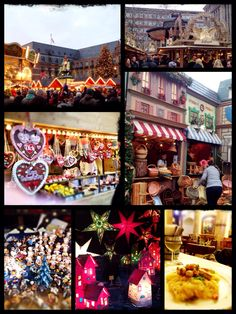 Christmas market Dusseldorf.