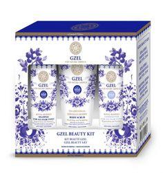 Pflege Set für alle Haartypen, Gzel, Natura Siberica, 750 ml. Haarpflege