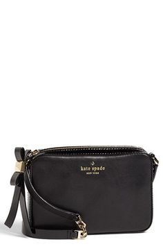 kate spade new york 'clover' leather crossbody bag available at #Nordstrom | $198.