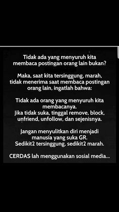 😁😂 Text Quotes, Sarcastic Quotes, Jokes Quotes, Book Quotes, Life Quotes, Quotes Lucu, Quotes Galau, Reminder Quotes, Self Reminder