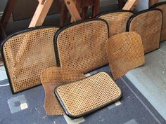 Former Glory Seat Weaving: Cane panels