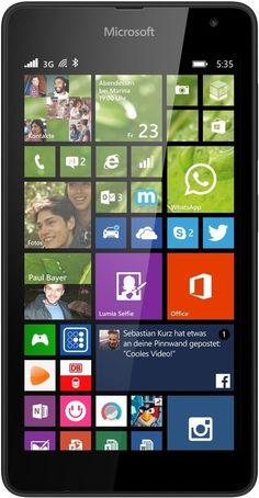 Microsoft Lumia 535 Dual SIM (Black)