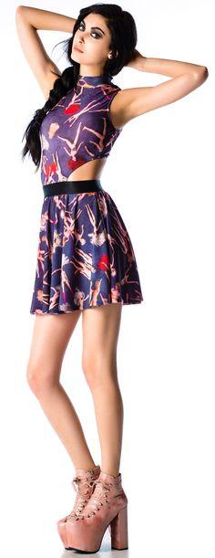 Lip Service Party #Barbie Printed Dress | Dolls Kill