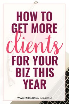 How to Attract More Clients in 2017 – Miranda Nahmias & Co. How to Get More For Your This Year // Miranda Nahmias Business Entrepreneur, Business Tips, Online Business, Business Coaching, Business Marketing, Business Goals, Business Names, Business Planning, Make Money Blogging