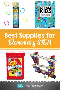 STEM Shopping List: Basic Supplies You Need for Your School. Principals and school leaders can choose wisely with STEM supplies purchasing and shopping with this basic must-have list for their schools and district. Science Experiments Kids, Science Lessons, Coding Games For Beginners, Basic Coding, School Leadership, Science Curriculum, Classroom Supplies, School Classroom, Book Activities