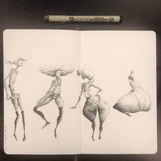 Some Valerie Hadida studies . Sculptures, Sketches, Sketch Book, Drawings, Line Art, Moose Art, Figure Drawing, Art Inspiration, Drawing Inspiration
