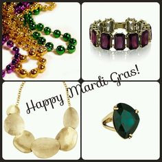 Treat yourself to some Mardi Gras flare! Check out my boutique for gorgeous affordable jewelry with a Lifetime Replacement Guarantee! http://www.chloeandisabel.com/boutique/shannapaynter