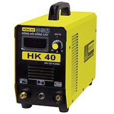 Máy cắt plasma HK40 Máy sử dụng được khi điện yếu ( 180V-240V) Tiết kiệm điện năng 50%-60% Hiển thị dòng cắt bằng kỹ thuật số Hiệu suất làm việc cao. Có chế độ bảo vệ quá nhiệt, quá tải, nguồn điện không ổn định Vật liệu cắt: Sắt, Inox, Đồng