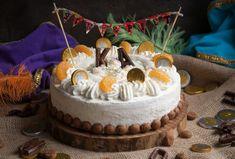 Sinterklaas taart | KeukenAtelier Pie Dessert, Birthday Cake, Cookies, Healthy, Desserts, December, Crack Crackers, Tailgate Desserts, Deserts
