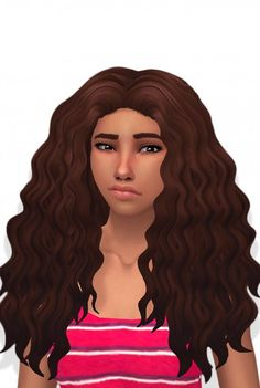 Butterscotchsims: Sintiklia Diva clayified hair for Sims 4