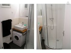 New Bathroom Sink Countertop Organization Laundry Rooms Ideas Laundry Room Bathroom, Tiny House Bathroom, Laundry Room Organization, Bathroom Storage, Small Bathroom, Bath Room, Bathroom Sinks, Laundry Rooms, Small Laundry
