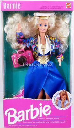 Sea Holiday Foreign Barbie Doll #5471 New in Box 1992 Mattel, Inc. 3+ #MattelInc #Dolls