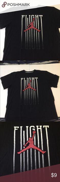Flight Jordan Tee Good condition - a little faded on the shirt but still in good condition Air Jordan Shirts Tees - Short Sleeve