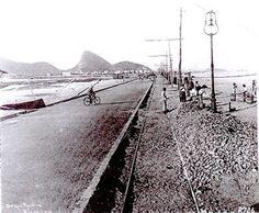Avenida Delfim Moreira (Praia do Leblon) em 1919 LITERATURA & RIO DE JANEIRO: IMAGENS DO RIO ANTIGO: CAMÕES, MALTA, FERREZ, LEUZINGER, DEBRET, GRASSER & GUTA
