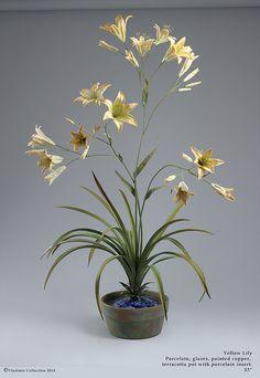 Flowers in Antique Vases New York Studio, Fire Art, Terracotta Pots, Fine Porcelain, Art Object, Objects, Pottery, Ceramics, Sculpture