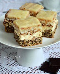 Polish Desserts, Just Desserts, Traditional Cakes, Dessert Bars, Food Design, Sweet Recipes, Nutella, Catering, Sweet Treats