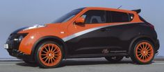 Nissan Juke Komplettrad Multi-Line Orange, 8,5x19