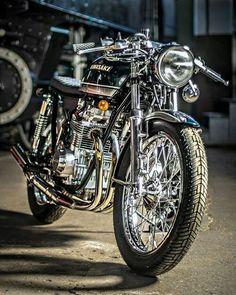 """Kawasaki KZ 650 """"Green Glory"""""""