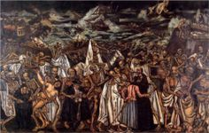 """""""""""It's the end of the world every day, for someone. Atwood 🎨'The End of the World', Jose Gutierrez Solana, Spanish Painters, Spanish Artists, Germanic Tribes, Evil Demons, Leonardo, Reproduction, Art Database, Picts, Fantastic Art"""