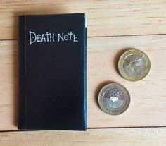 Death Note print mini wallet. Digital Download por vssihaland #anime #manga #ryuk #deathnote #wallet #diy #paper #origami #death #note