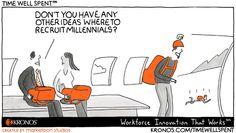 Proceso de selección para Millennials. #rrhh #humor