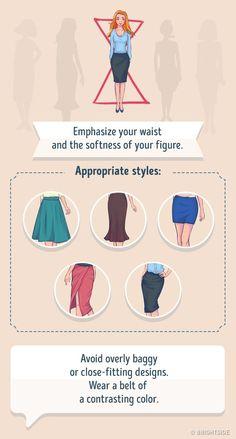 Rectangle Body Shape - What to Wear - FashionActivation Fashion Mode, Fashion Beauty, Fashion Trends, Runway Fashion, Style Fashion, Jw Moda, Hourglass Body Shape, Winter Typ, Hourglass Fashion