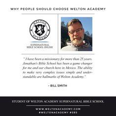 Bill Smith . Welton Academy